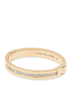 Michael Kors Gold-Tone Hinged Closure Bracelet