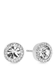 Michael Kors Jewelry Silver-Tone Stud Earrings