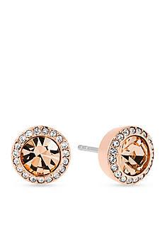 Michael Kors Jewelry Gold-Tone Stud Earrings