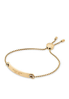 Michael Kors Haute Hardware Gold-Tone Slider Bracelet