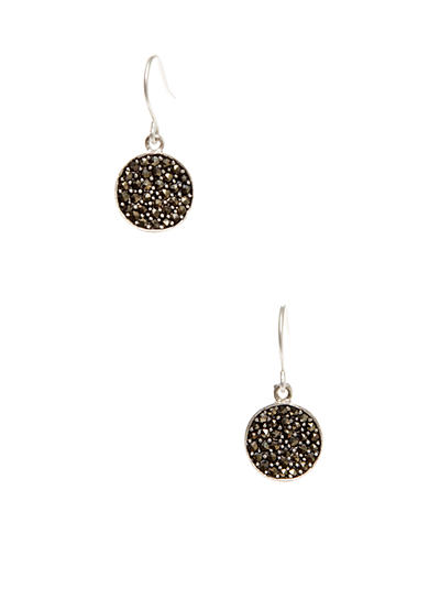 Kenneth Cole Marcasite Accent Drop Earrings