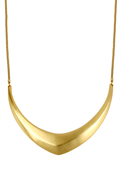 Sculptural Frontal Necklace