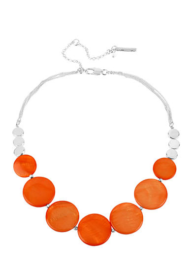 Coral Shell Frontal Necklace