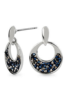 Kenneth Cole Faceted Bead Round Drop Earring