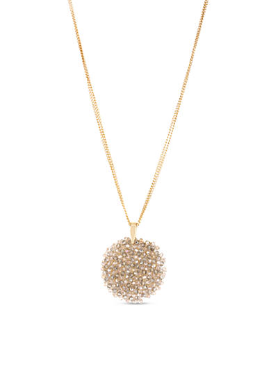 Kenneth Cole Topaz Pendant Necklace