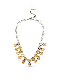 Kenneth Cole Two-Tone Ball Collar Necklace