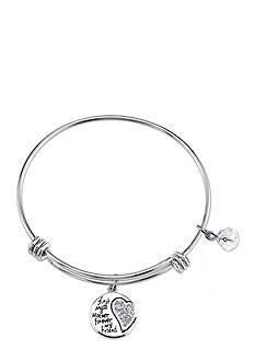 Belk Silverworks Life's Moments My Mother, My Friend Bangle Bracelet