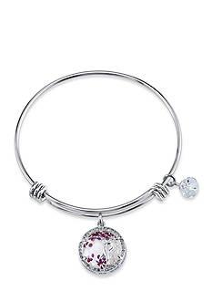 Belk Silverworks Silver-Tone Sister Love Charm Bracelet