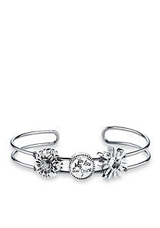Belk Silverworks Stainless Steel You Are My Sunshine Cuff