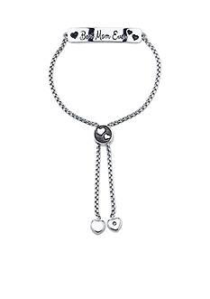 Belk Silverworks Silver Plated 'Best Mom Ever' Slide Bracelet