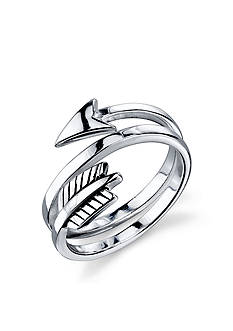 Belk Silverworks Sterling Silver Arrow Wrap Ring
