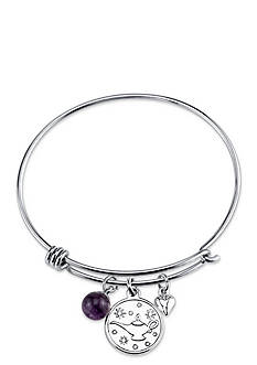 Belk Silverworks Stainless Steel Disney A Whole New World to Discover Bangle Bracelet