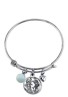 Belk Silverworks Stainless Steel Disney Sisters Forever Bangle Bracelet