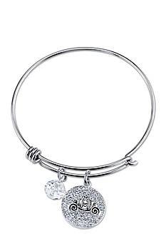 Belk Silverworks Stainless Steel Disney Dream Big Bangle Bracelet