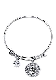 Belk Silverworks Stainless Steel Disney Sweet Like Hunny Bangle Bracelet