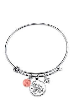 Belk Silverworks Stainless Steel Disney All We Have is Love Bangle Bracelet
