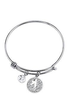 Belk Silverworks Stainless Steel Disney Sprinkle a Little Magic Bangle Bracelet