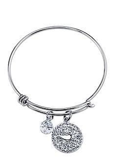Belk Silverworks Stainless Steel Disney Magical Moments Await Bangle Bracelet