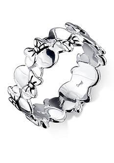 Belk Silverworks Sterling Silver Disney Minnie Mouse Ring
