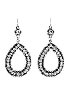 Jessica Simpson Cutout Earrings