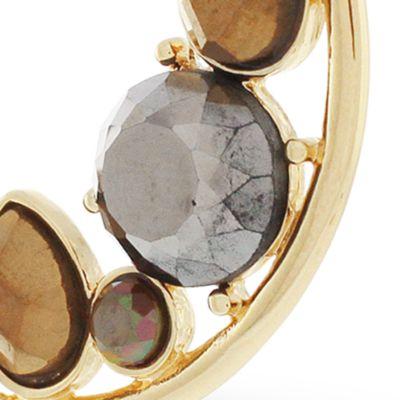 Hoop Earrings: Gold Jessica Simpson Hoop To It C Hoop Earrings