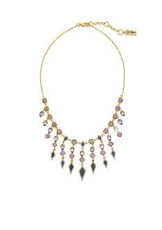 Jessica Simpson Gold-Tone La Vie Statement Necklace