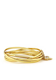 Jessica Simpson Metal Connection Bangle Set