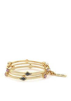 Jessica Simpson Gold-Tone La Vie Bangle Bracelet Set