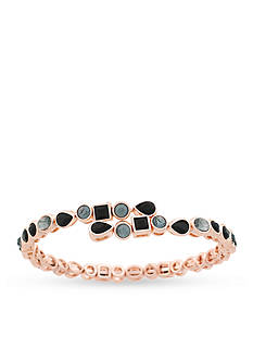 Jessica Simpson Rose Gold-Tone Colors Of The World Coil Bracelet