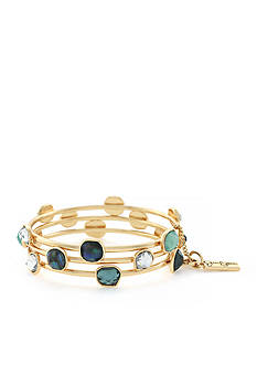 Jessica Simpson Gold-Tone Prairie Trail Bangle Bracelet Set