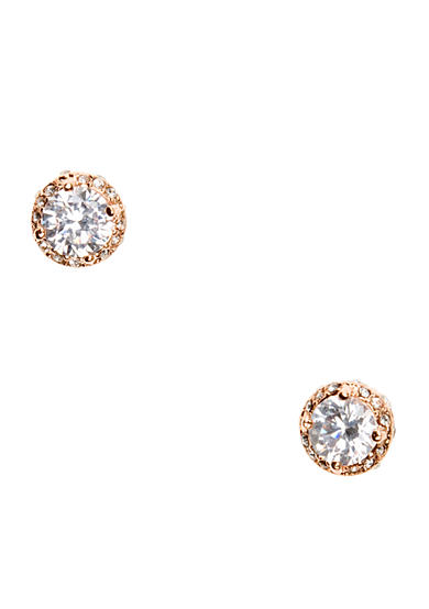 Betsey Johnson Cubic Zirconia Stud Earrings