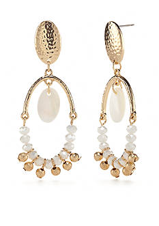New Directions® Gold-Tone In The Sand Chandelier Earrings