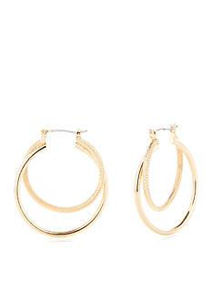New Directions Kristy Double Hoop Earrings