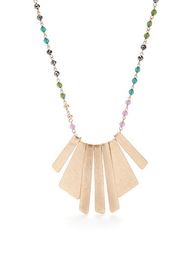 New Directions® Gold-Tone The '70s Statement Necklace