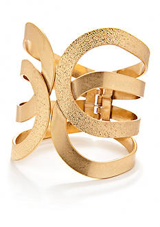 New Directions Gold-Tone Cuff Bracelet