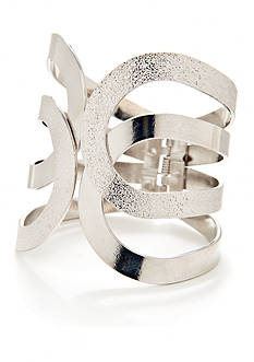 New Directions Silver-tone Cuff Bracelet
