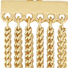 Jewelry & Watches: Bcbgeneration Fashion Jewelry: Gold BCBGeneration Fringe Benefits Drop Earrings