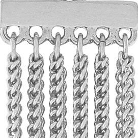 Jewelry & Watches: Bcbgeneration Fashion Jewelry: Silver BCBGeneration Fringe Benefits Drop Earrings