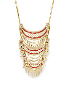 BCBGeneration Gold-Tone Golden Girl Statement Necklace