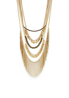 BCBGeneration Gold-Tone Golden Girl Layered Necklace