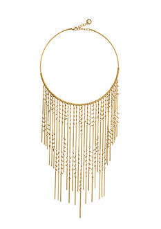 BCBGeneration Gold-Tone Who Runs The World Statement Necklace
