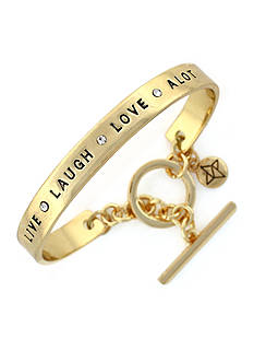BCBGeneration Live Laugh Love A Lot Bracelet