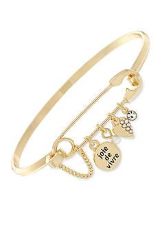 BCBGeneration Gold-Tone Love Bangle Bracelet