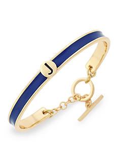 BCBGeneration Gold-Tone Love Letter Initial J Cuff Bracelet