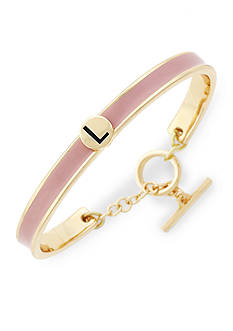 BCBGeneration Gold-Tone Love Letter Initial L Cuff Bracelet