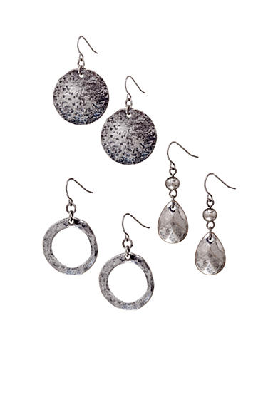 Ruby Rd Metal Items Collection Earrings