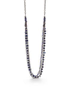 Silver-Tone Ruby Rd. Long Torsade Necklace