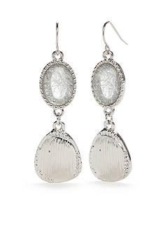 Ruby Rd Neutral Territory Double Drop Earrings
