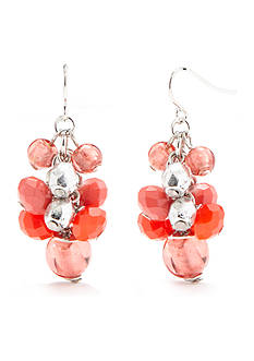 Ruby Rd Bold Moves Cluster Drop Earring