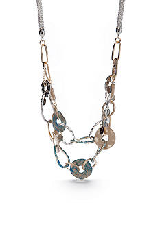 Ruby Rd Multi-Tone Good Jeans Statement Necklace